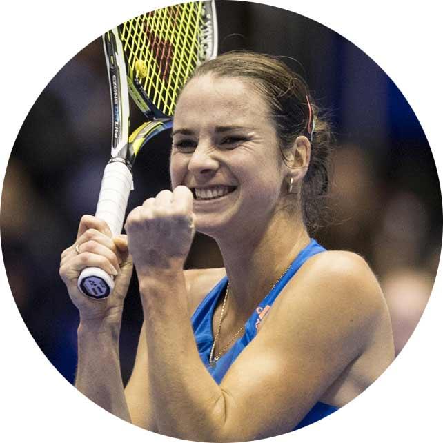 """Bibiane Schoofs - Wimbledon (Tennis) """"Ik kan weer vrijuit bewegen en ben niet meer verzwikt sinds het gebruik van EXO-L's"""""""